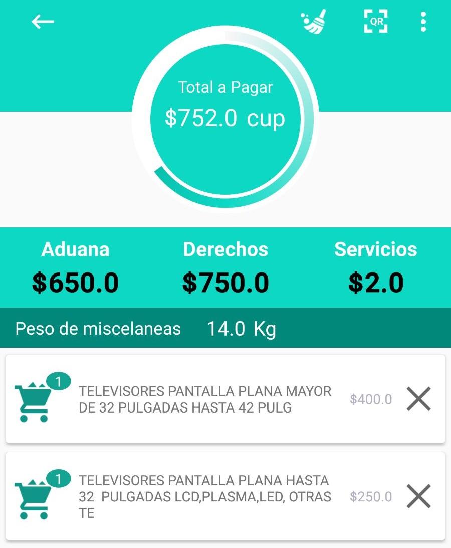 La Aduana de Cuba lanza aplicación que permite calcular los aranceles a pagar en Cuba
