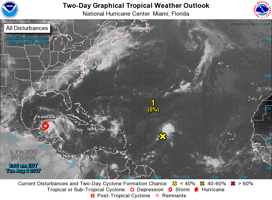 Implementan Plan DN-III en Quintana Roo por tormenta 'Franklin'