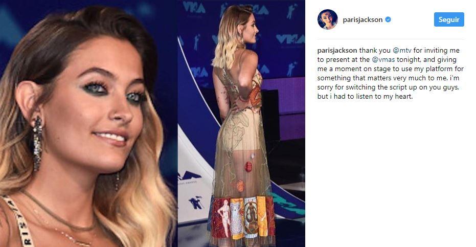 Pink contó emotiva historia en los MTV Video Music Awards