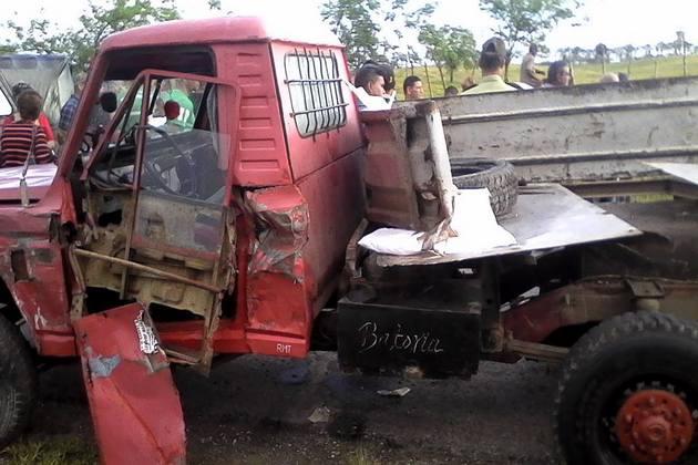 Accidente de tránsito en Placetas deja tres muertos (+FOTOS)