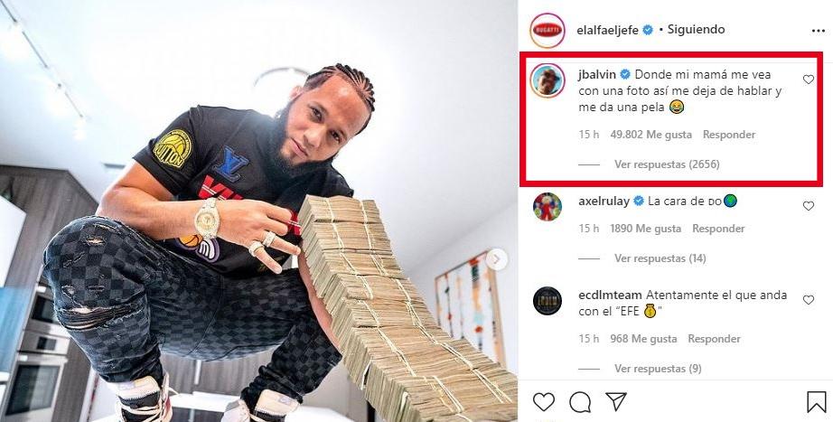 J Balvin responde a El Alfa