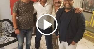 Los actores Néstor Jiménez y Albertico Pujol promocionan novela en Facebook