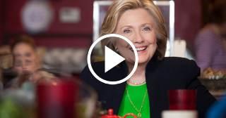"""Hillary Clinton: """"Iba camino a ganar, pero se conjugaron cuatro factores en mi contra"""""""