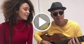 """""""Dos Gardenias"""" en la preciosa voz de la hija de Alexis Valdés"""