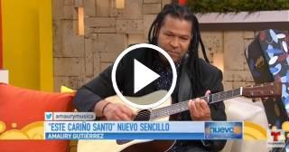 """Amaury Gutiérrez presenta su nuevo disco """"Entre cuerdas"""""""