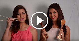 Cubana animadora de los Marlins enseña cómo hacer un arroz frito hawaiano