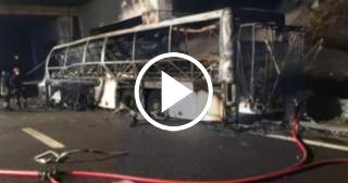 16 estudiantes húngaros fallecen en accidente de autocar en Italia
