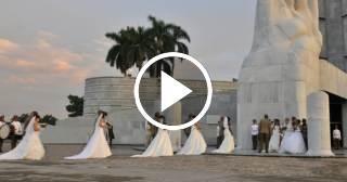 Celebran boda colectiva de las FAR en homenaje al cumpleaños de Fidel Castro