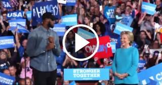 LeBron James se une a la campaña electoral de Hillary Clinton