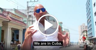 Video oficial del rodaje de Fast and Furious 8 en Cuba