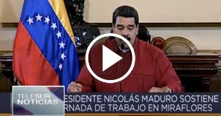 """Maduro sobre el discurso de Trump: """"demuestra su desprecio e ignorancia"""""""