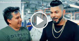 """Robertico se cuela en la filmación del nuevo vídeo de Chacal y Divan """"Príncipe azul"""""""