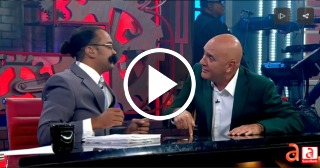 HUMOR: Serrano se cuela en el programa de Carlos Otero