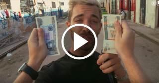 Así explica un youtuber español la doble moneda en Cuba