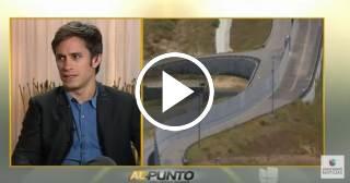 """El actor mexicano Gael García Bernal opina sobre su papel en """"Neruda"""" y sobre Trump"""