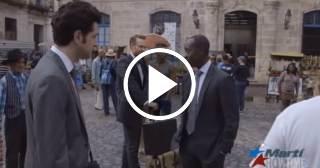 """""""No es fácil"""": Escenas del rodaje en Cuba de House of Lies"""