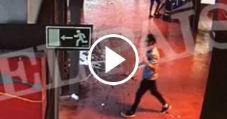 Imágenes de la huida del terrorista responsable del atentado de Barcelona