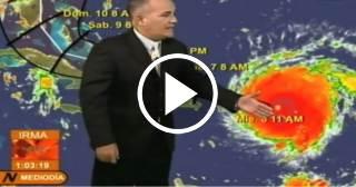 Último parte del tiempo en Cuba: a primera hora del viernes Irma llegará a la mitad oriental del país