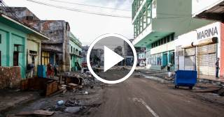 Afectados por el huracán Irma en Cuba siguen viviendo entre escombros