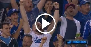 Increíble fildeo y jonrón de tres carreras de Yasiel Puig para la victoria de los Dodgers