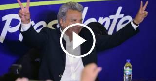 Victoria de Lenín Moreno en las elecciones de Ecuador pero habrá segunda vuelta
