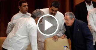 """Nicolás Maduro en La Habana: """"Somos los continuadores, los constructores del mundo"""""""