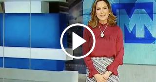 La popular presentadora cubana María Elvira Salazar anuncia su despido de Mega Tv