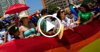 Conga en Cuba contra la homofobia y por el socialismo