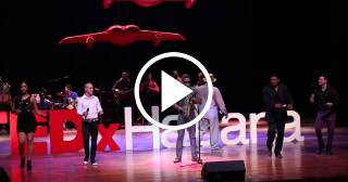 """José Luis Cortés """"El Tosco"""" y NG La Banda en TEDxHabana 2014 - Murakami Mambo"""