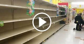 Supermercados de Miami se quedan sin agua en vísperas del huracán Irma