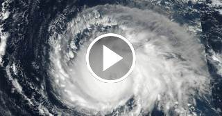 Espectacular: así es el ojo del huracán Irma