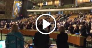 Guardan en la ONU un minuto de silencio en honor a Fidel Castro