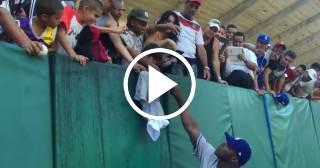 Imágenes inéditas de la visita a Cuba de las Grandes Ligas