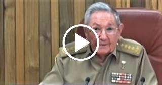 Raúl Castro reaparece en televisión pero sigue sin pisar la calle
