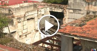 Se cae a pedazos el antiguo Restaurante Moscú del Vedado