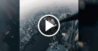 Famoso escalador de rascacielos graba su propia muerte al caerse de un piso 62