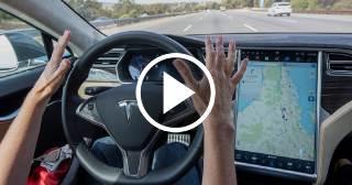 Nueva tecnología de radar en los Tesla previene accidentes de vehículos que marchan delante