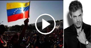 William Levy le pide a los venezolanos no rendirse
