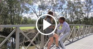 El bailarín cubano Yasim Coronado anuncia que espera un segundo hijo, mientras baila con su mujer