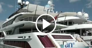 Los yates más lujosos del mundo se exhiben en Miami