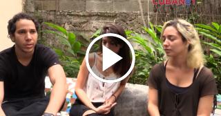 Entrevista con actores y actrices de la serie cubana Zoológico