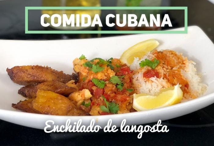 Receta De Enchilado De Langosta Cibercuba Cocina