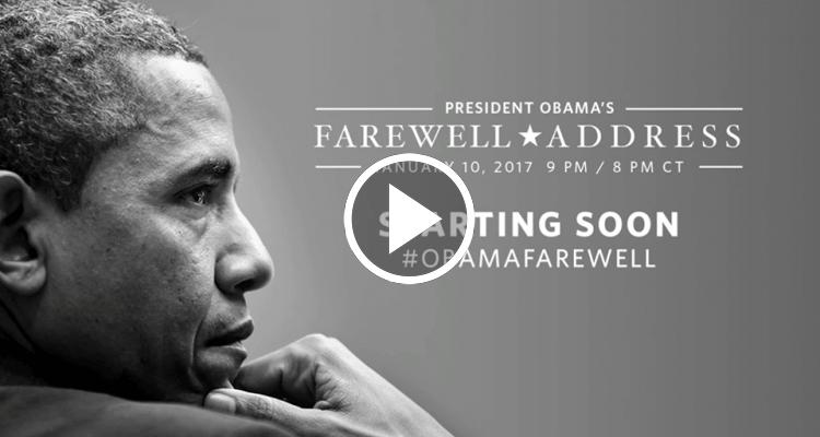 Discurso de adiós de Barack Obama