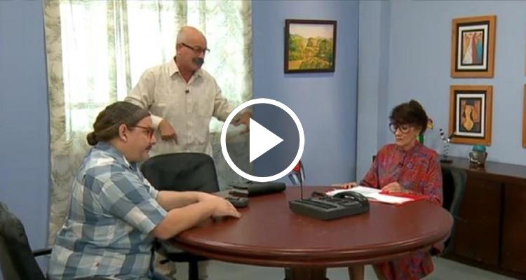 """""""Ley Seca en Cuba"""" el sketch humorístico del año en AméricaTV"""