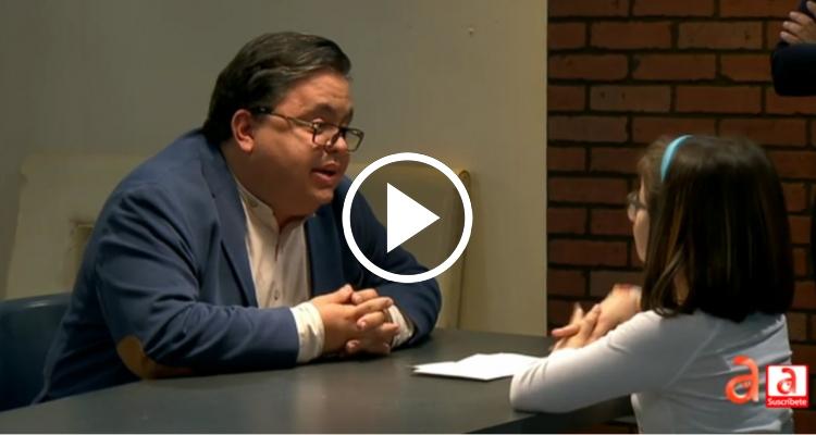 Carlucho entrevistado por su hija Lía