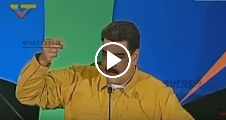 """Maduro contra Rajoy: """"Se le reventarán los dientes"""""""