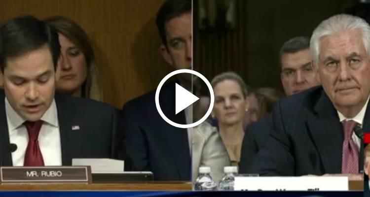 La incómoda pregunta de Marco Rubio al futuro secretario de Estado de Trump