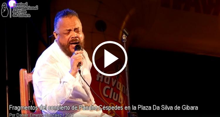 Pancho Céspedes se presentó en el Festival Internacional de Cine de Gibara, Holguín