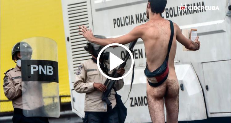 Las mejores imágenes de las protestas opositoras en Venezuela el 20 de abril
