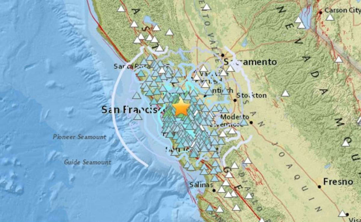 Un sismo de 4,5 agita el estado de California